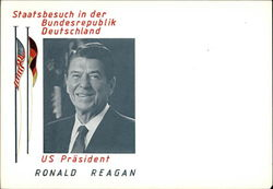 US Prasident Ronald Reagan