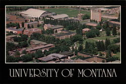 University of Montana - Aerial View of Campus