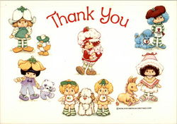 Strawberry Shortcake - Thank You