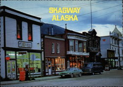Dusk in Skagway
