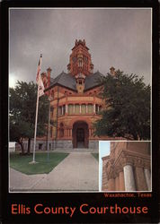 Ellis County Courthouse Postcard