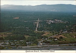 Qualicum Beach - Aerial View