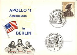 Apollo 11 Astronauten in Berlin