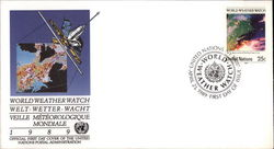 World Weather Watch First Day Cover