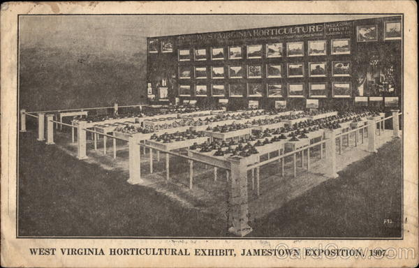 West Virginia Horticultural Exhibit Norfolk