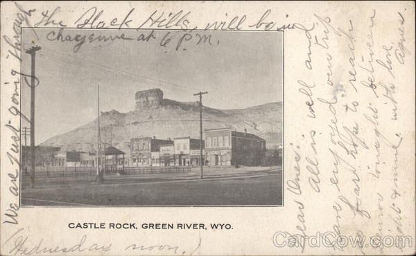 Castle Rock Green River Wyoming