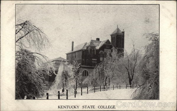 Kentucky State College Frankfort