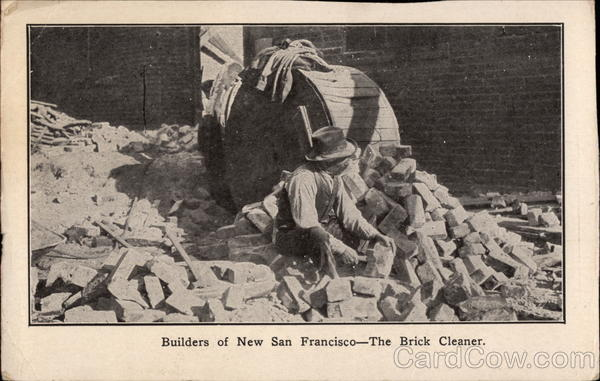 Builders of New San Francisco - The Brick Cleaner California