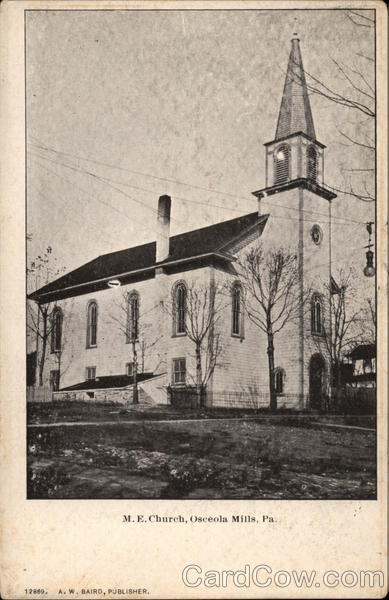 M.E. Church Osceola Mills Pennsylvania