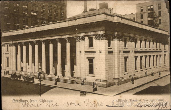 Illinois Trust & Savings Bank Chicago