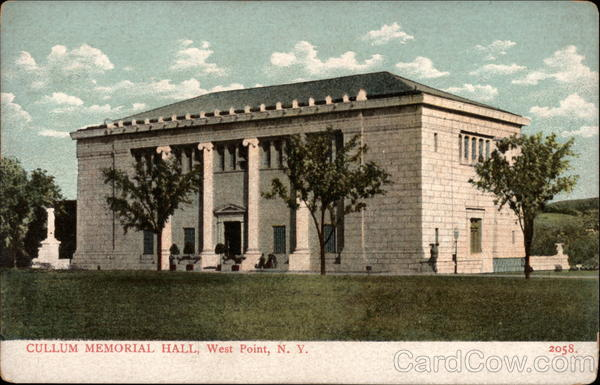 Cullum Memorial Hall West Point New York