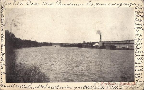 Fox River Batavia Illinois