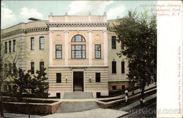 Carnegie Library, Washington Park Yonkers New York