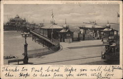 View of Victoria Pier Postcard