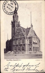 View of Post Office Postcard