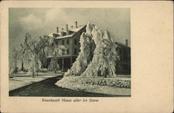 Wauchusett House After Ice Storm