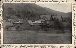 Silver Bay Hotel on Lake George