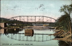 Bridge at Livermore Falls, ME