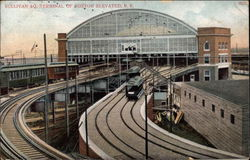 Sullivan Square Terminal of Boston Elevated R.R
