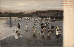 The Small Parks Sysstern, Mark White Square, Wading Pool Postcard