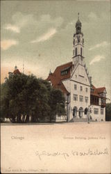 German Building, Jackson Park Postcard