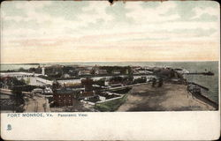 Panoramic View of Fort Monroe