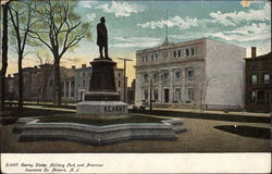 Kearny Statue, Military Park and American Insurance Co