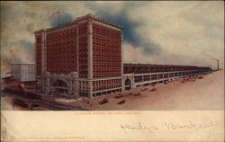 La Salle Street Station in Chicago Postcard