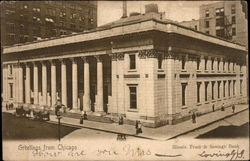 Illinois Trust & Savings Bank Postcard