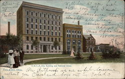 Y.M.C.A., Elks Building and National Union
