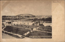 Iron Bridge Over the Brazos River