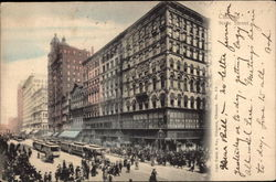 View of State Street Postcard