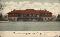 Lincoln Park Casino in Chicago Postcard