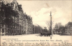 The Vendome and Commonwealth Ave