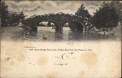 Stone Bridge, Stow Lake, Golden Gate Park