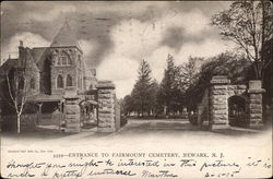 Entrance to Fairmount Cemetery