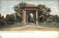 Arlington National Cemetery, McClellan Gate