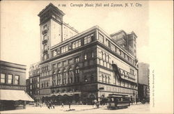 Carnegie Music Hall and Lyceum