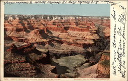 Grand Canyon of Arizona from Hotel el Tovar