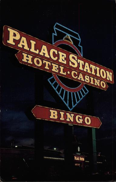 The World's Largest Neon Sign - Palace Station Hotel & Casino Las Vegas Nevada