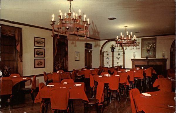 The Colonial Dining Room Talbott Tavern Bardstown Kentucky