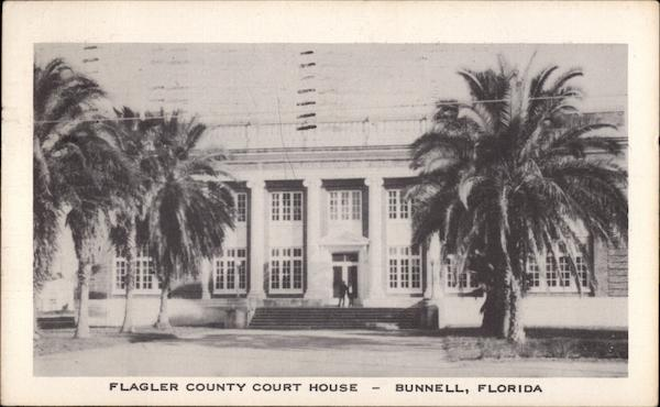 Flagler County Court House Bunnell Florida