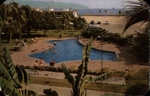 Motel Acapulco - Swimming Pool Mexico