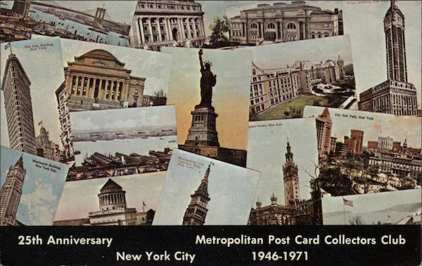 Metropolitan Post Card Collectors Club New York City