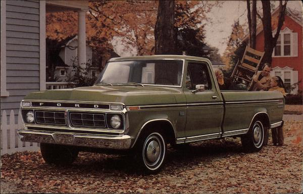 1976 F100 Ford Ranger XLT Cars