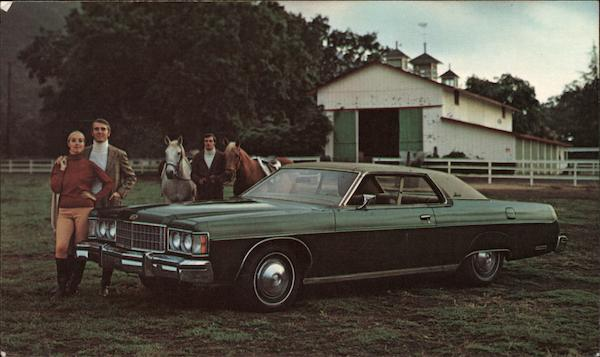1974 Mercury Monterey 2-door Hardtop Cars