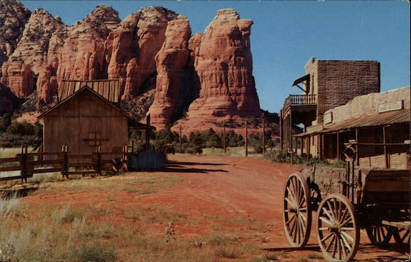 Old Movie Street Sedona Az