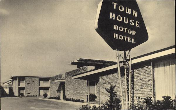 Town House Motor Hotel New Orleans Louisiana