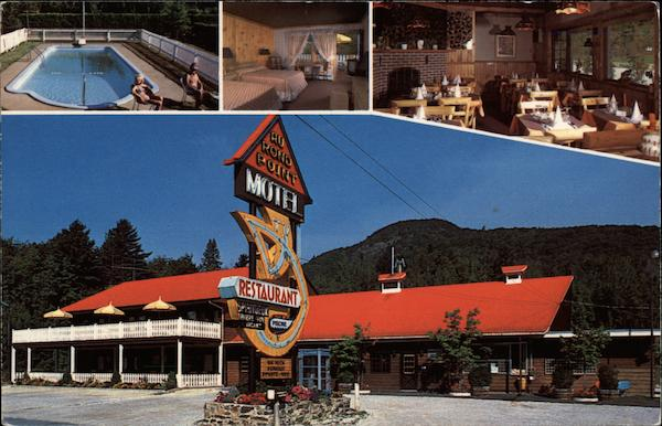 Au Ront Point Motel - Restaurant Magog Canada Quebec
