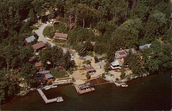 Rock Cove Lodge and Log Cabins on Lake George Bolton Landing New York